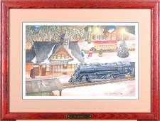 Angela Trotta Thomas On Schedule  Original watercolor