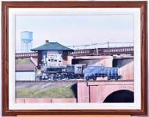 Louis Mallard, Long Island Railroad 4-6-0 Locomotive