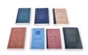 Seven Nickel Plate Railroad Rates of Pay / Rule Books,