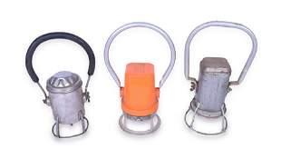 Group of Three Railroad Battery Powered Lanterns -