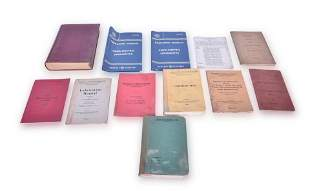 Group of Railroad paper - Includes Locomotive Operating