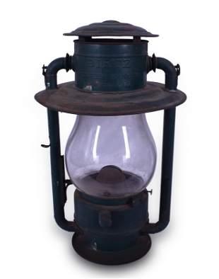 Dietz Pioneer Large Railroad Station Hanging Lantern w/