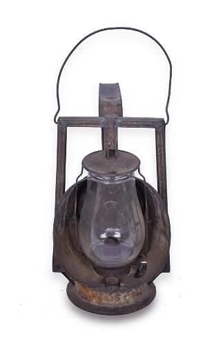 Pere Marquette Railroad Dietz Inspection Lantern