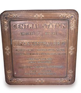 Illinois Central Chicago Central Station Dedication