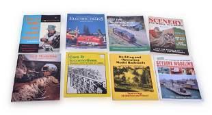 Group of Twenty Four Model Railroading Books