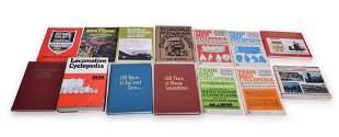 Group of Fourteen Railroad Books; Locomotive and Train