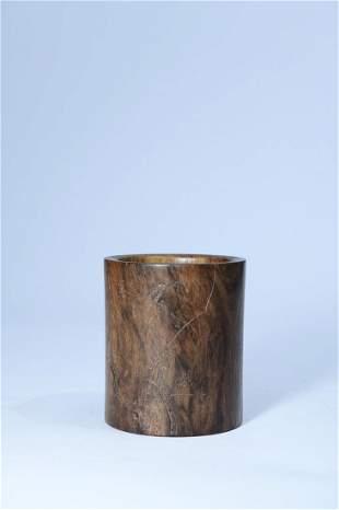 A Fine Huanghuali Brush Pot