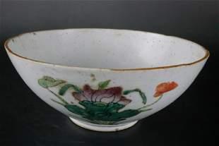 A Top Wucai 'Flower' Bowl