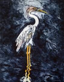 Great Blue Heron with Attitude, 1994 - John Alexander