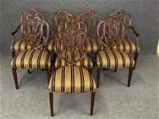 Eight Custom Dining Chairs