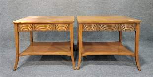 Pair Of Baker End Tables