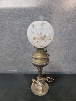 Victorian Lamp With Shade