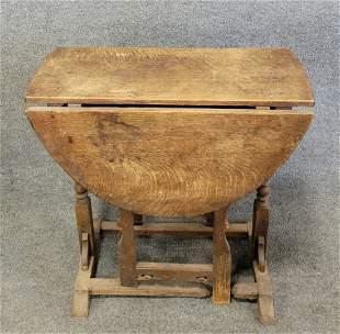 Antique 17th Century Gateleg Table