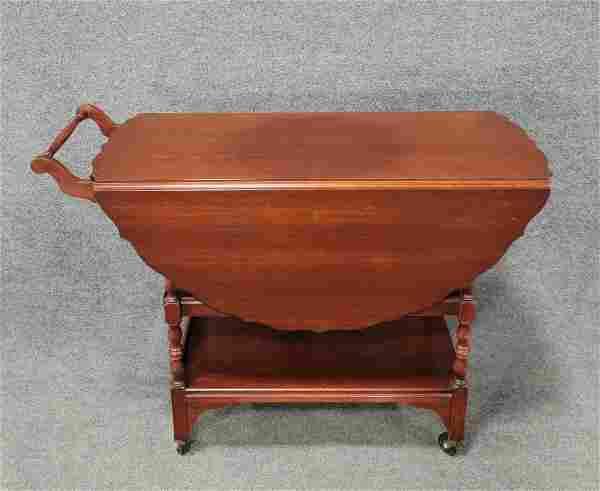 Mahogany Tea Cart