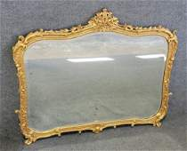 Large Guilt Mirror In The Manner Of Freeman Brothers