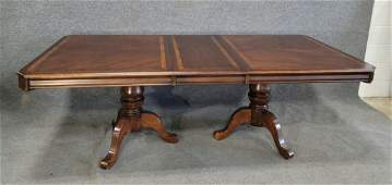 Dining Room Table Banded With One Board