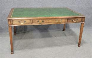 Custom Leather Top Desk