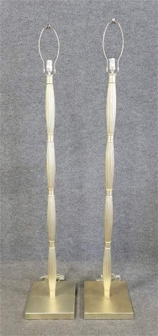 Pair Of Floor Lamps
