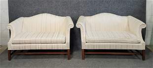 Pair Of Chippendale Style Sofa's