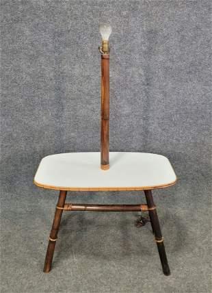 Rattan Lamp Table
