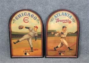 2 Large Baseball Players