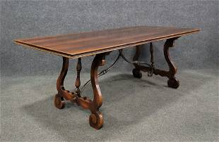 Dining Room Table With Metal Base