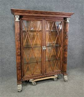 Large 2 Door Maitland Smith Bookcase