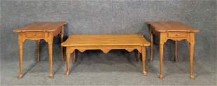 3 Real Clean Maple Ethan Allen Tables