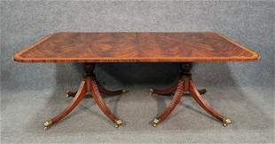 Banded Dining Room Table 2 Boards