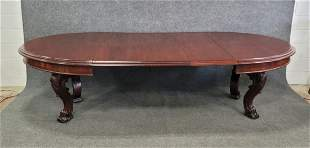 Large English Dining Room Table 3 Boards