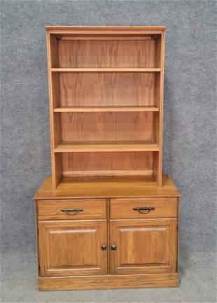 Ranch Oak Cabinet