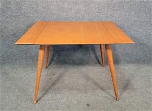 Paul McCobb Dining Room Table w/ 2 Table Leaves