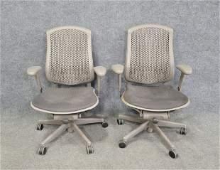 Pair Of Herman Miller Office Chairs