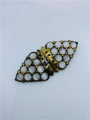 VIntage High Quality Costume Jewelry Clip Pin Brooch
