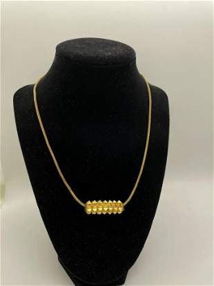 22k And 18K Gold Necklace and Pendent
