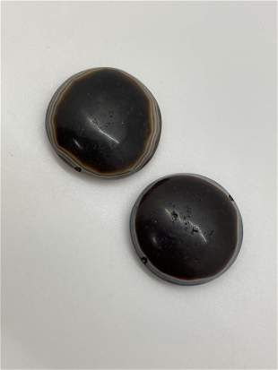 Ancient Banded Agate Beads Round Agate