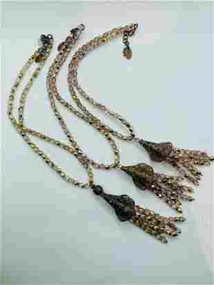 Vintage Sharagano Paris Costume Jewelry  Lot of 3