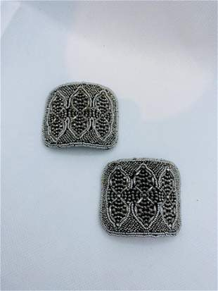 Antique Victorian Steel Cut Jewelry MADE IN FRANCE