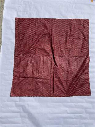 19th Century Middle Eastern Block Print RED