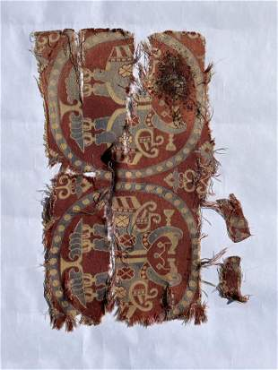 Ancient Middle Eastern Textile Fragment