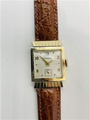 Vintage 14K Gold Tiffany & Co Watch