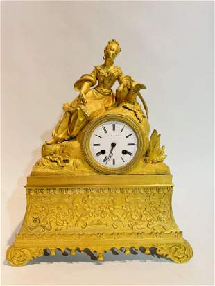 19th Century Leroy A. Paris French Ormolu Bronze