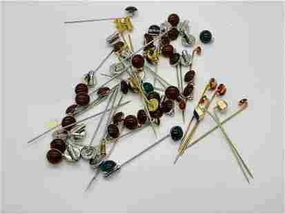 Lot of Vintage Stick Pins Ladybugs