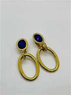 Large Vintage Valentino Earrings