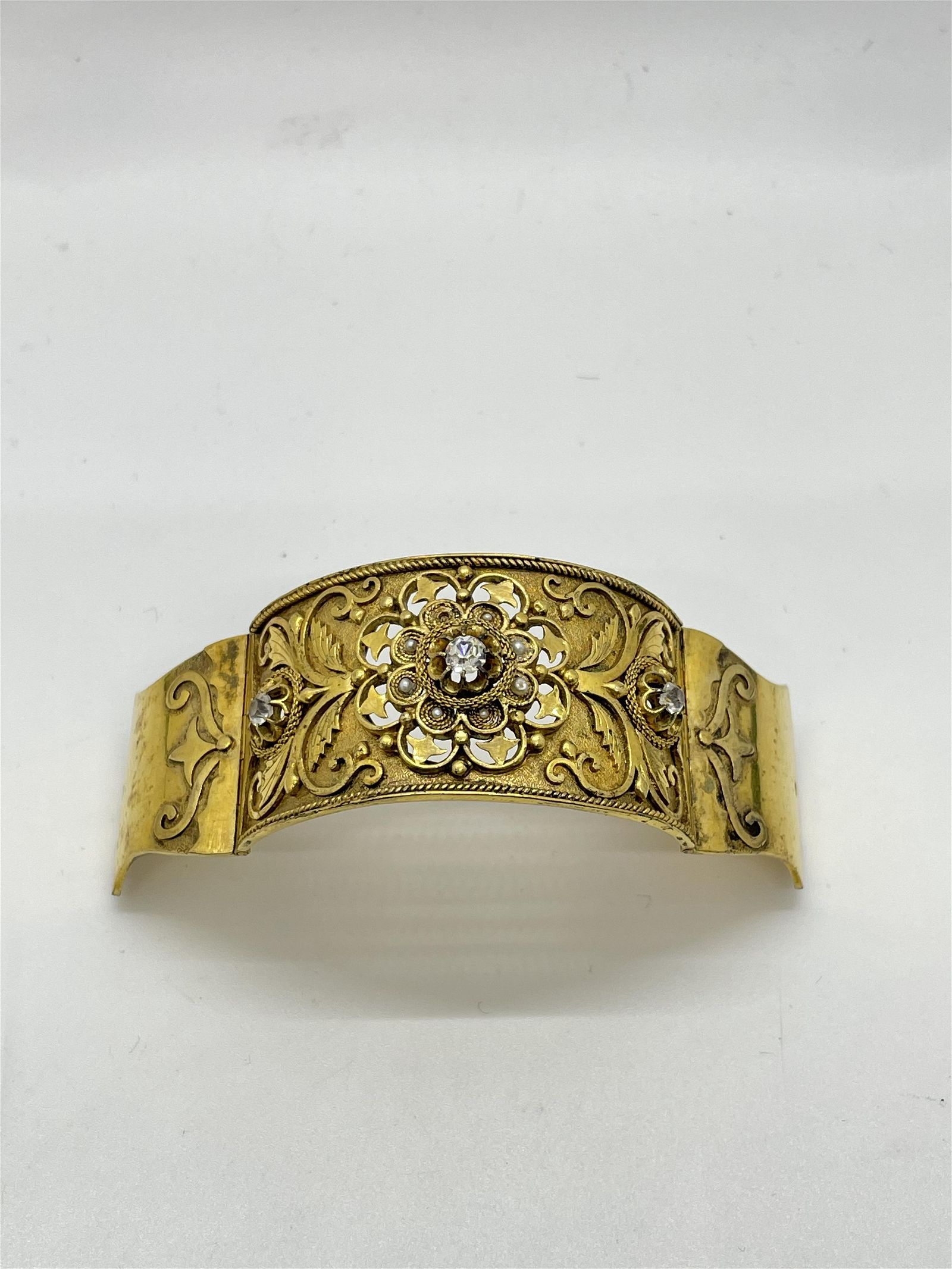 Victorian Gold Filled Hair Clip