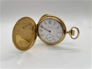 18K Gold Marcus and Co Pocket Watch