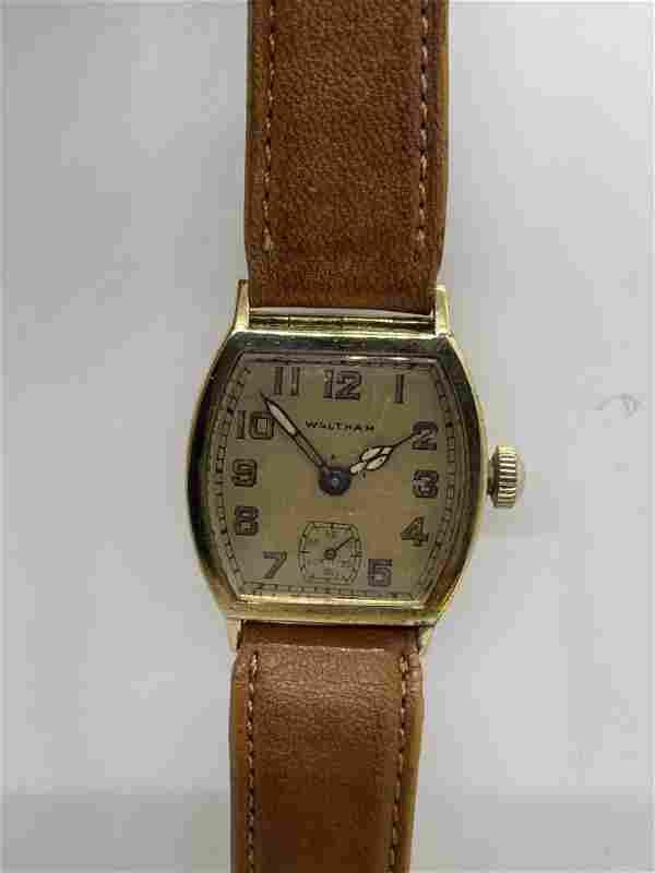 Vintage 14k Gold Waltham Watch