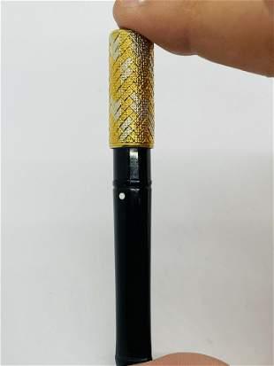 Vintage 18K Gold Cigarette Holder Signed