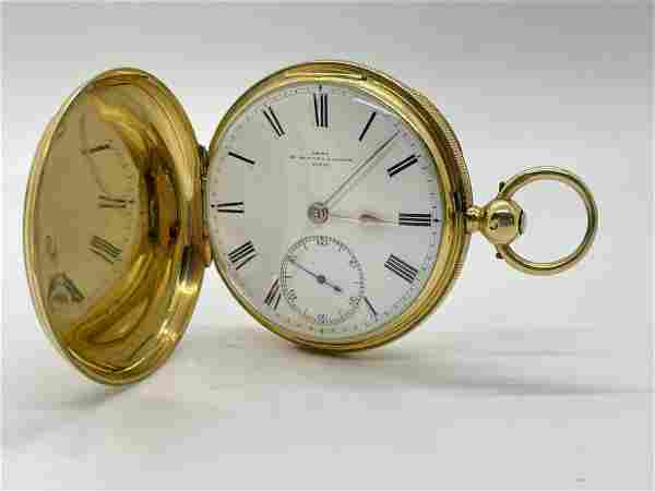 18K Gold Dent Pocket Watch Maker to the Queen London