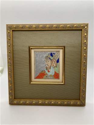 Indian Signed Watercolor Islamic